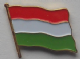 Hungary Country Flag Enamel Pin Badge